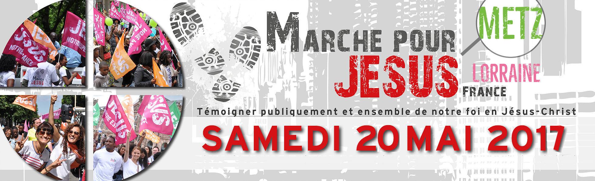 Marche Pour Jésus Lorraine